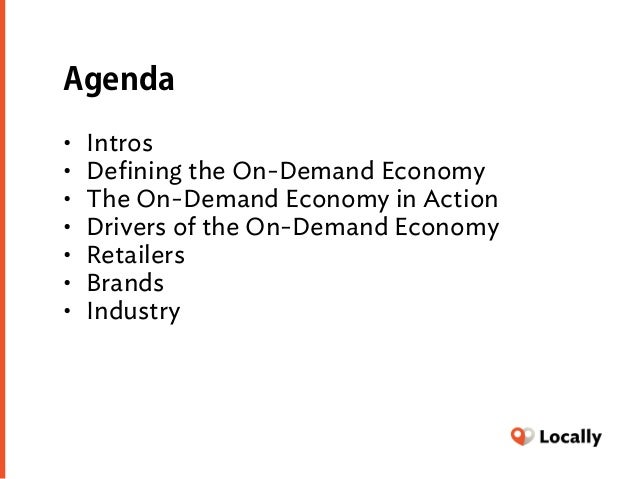The On-Demand Economy and the Local Retailer (The Running Event 12/1/15) Slide 2