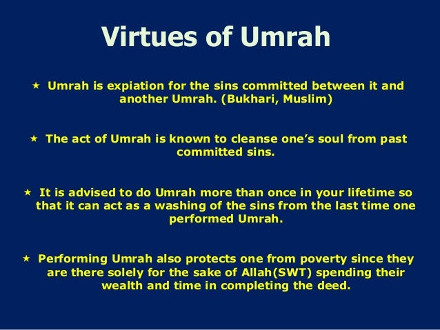 Step by Step Guide to Holy  Umrah/Umra Slide 3