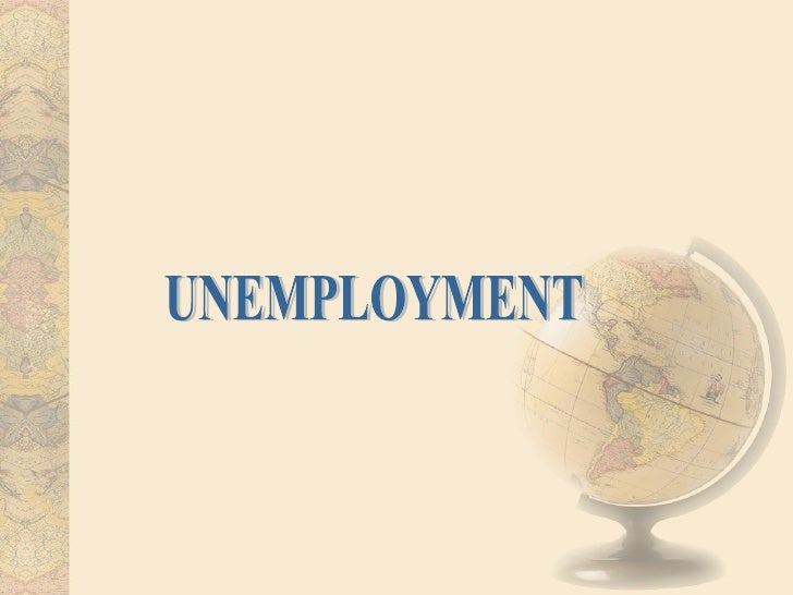 Unemployment  The national sample survey organisation (NSSO) has define unemployment on three concepts namely: usual statu...