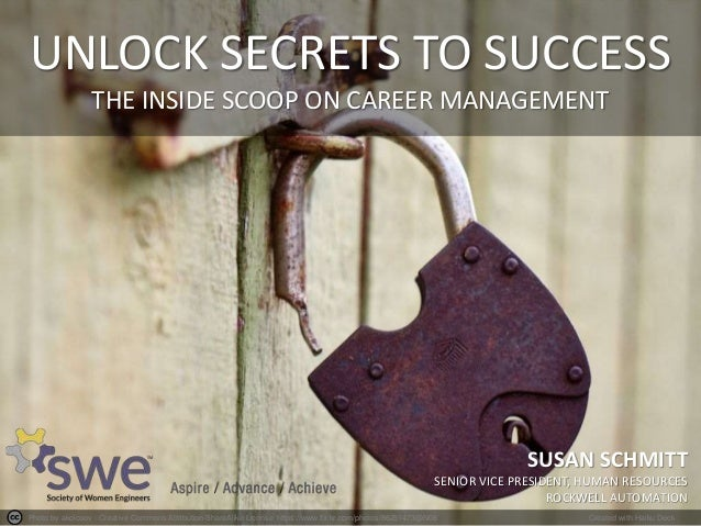 Unlock the Secrets to Success - The Inside Scoop on Career Management