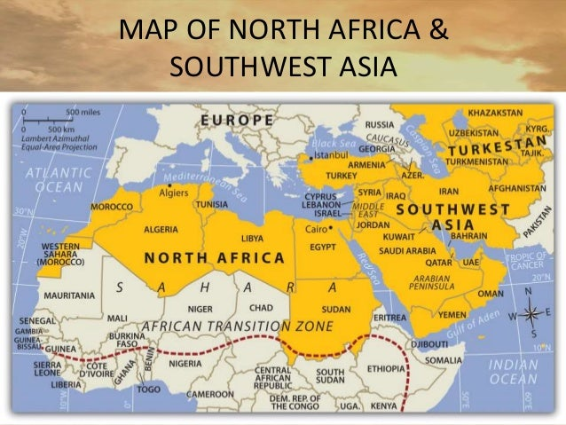 Southwest Asia North Africa Map Euphrates River | Biofocuscommunicatie