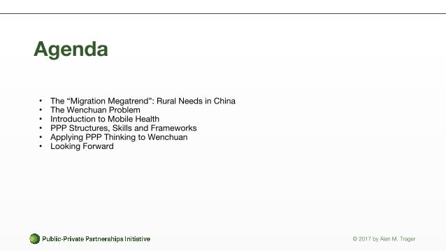 Mobile Health in China: A Case Study on Wenchuan Slide 2
