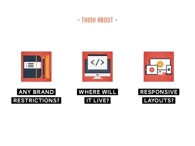 -thinkabout…- any brand restrictions? where will it live? responsive layouts?