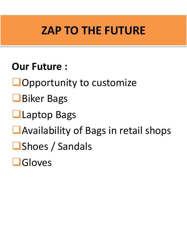 marketing plan for bags