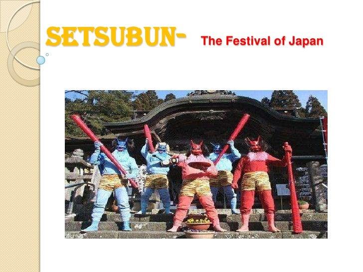 Setsubun-  The Festival of Japan<br />