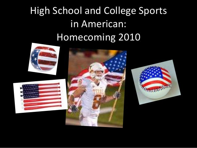 High School and College Sports in American: Homecoming 2010