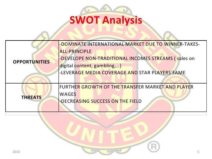 swot analysis manchester united Custom sir alex ferguson: managing manchester united harvard business (hbr) case study analysis & solution for $11 sales .