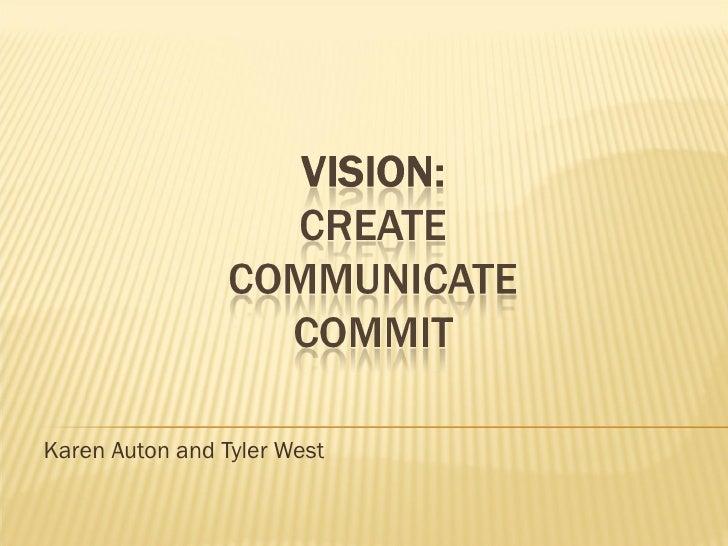 Karen Auton and Tyler West
