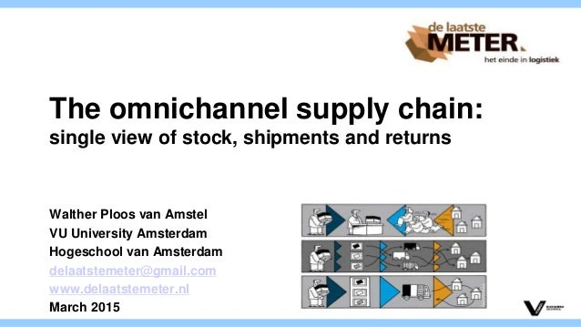 The omnichannel supply chain: single view of stock, shipments and returns Walther Ploos van Amstel VU University Amsterdam...