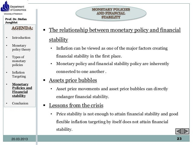 interaction of fiscal and monetary policy The interaction between monetary and fiscal policies relates to the fact that both  types of policies have an impact on key macroeconomic variables this, in turn.