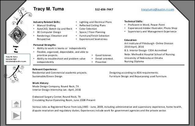 Interior Design Portfolio Of Tracy Tuma