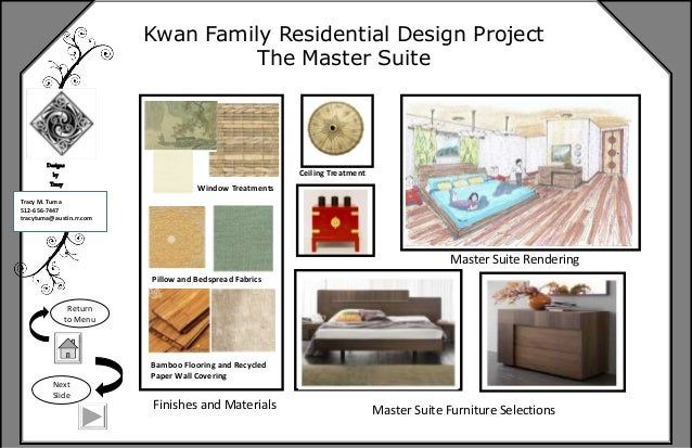 Furniture 6 Kwan Family Residential Design Project The Master
