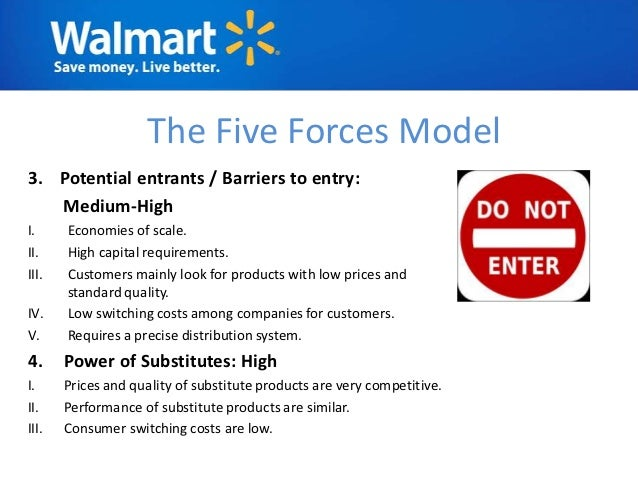 Walmart porters five force