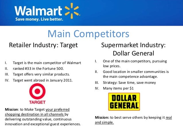 how walmarts choice of market focus contributes to its competitive advantage