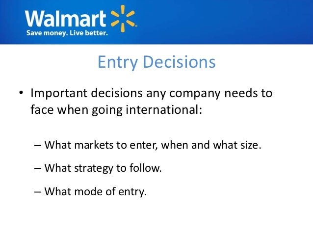 walmart in europe case study analysis A brief swot analysis of wal mart - the world's largest company home  likely to increase as travel costs to walmart increase in europe the expansion of.