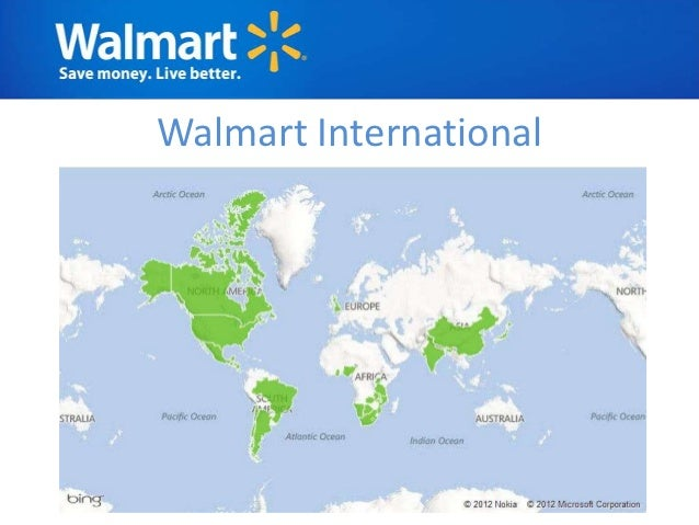 WalMart Analysis - Map of walmart locations in us