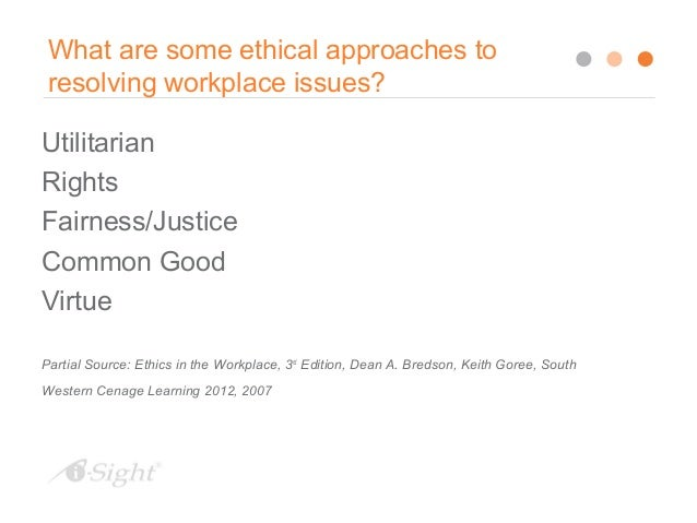 prevalent moral issues and dubious practices in the workplace Those issues not covered by the law, or where there is no definite consensus on  whether  the demands being placed on business to be ethical by its various.