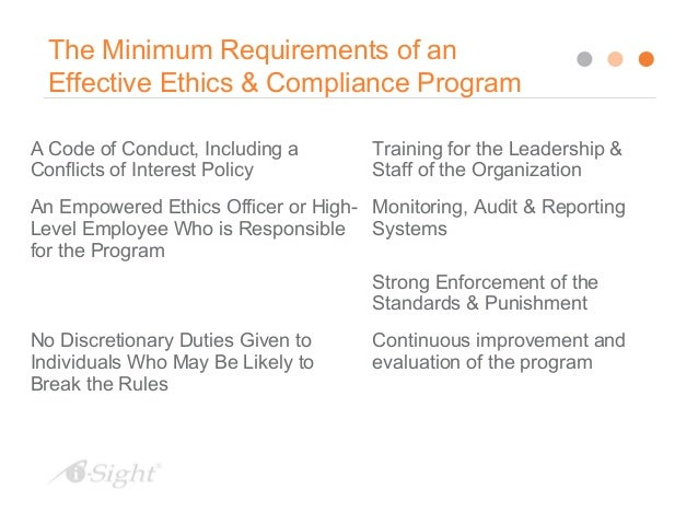 Handling ethics issues in the workplace - Ethics and compliance officer association ...