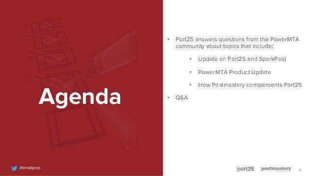 The Future of PowerMTA - November 2018