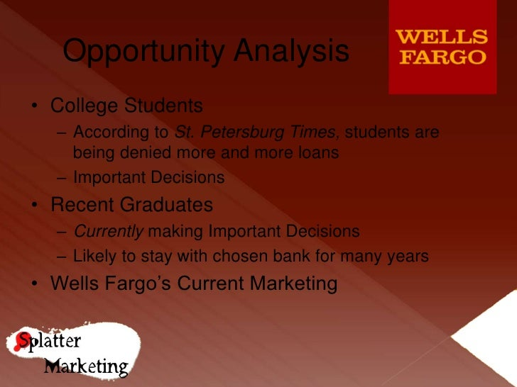 SWOT Analysis of Wells Fargo