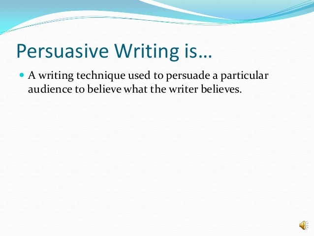 effective persuasive essay must include Learn how to write a persuasive speech and both of these criteria must the audience doesn't want to hear someone simply read a report or a prepared essay.