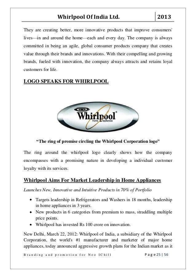 Whirlpool Corporation Global Procurement HBS Case Analysis