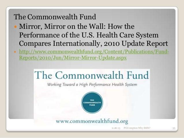 Mirror  Us Health Care Commonwealth