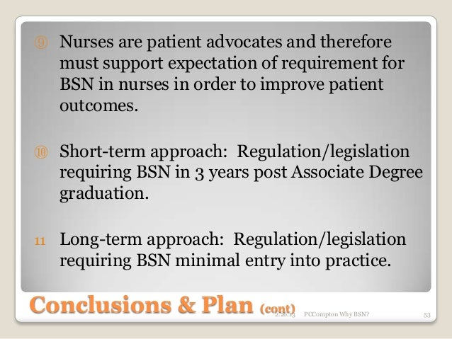 atient safety outcomes to adn and bsn The rn to bsn program at suny delhi prepares professional for quality care and patient safety for improving patient health outcomes.