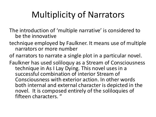 william faulkners dilsey section essay Find the quotes you need in william faulkner's the sound and the fury, sortable by theme, character, or section the sound and the fury quotes from litcharts.