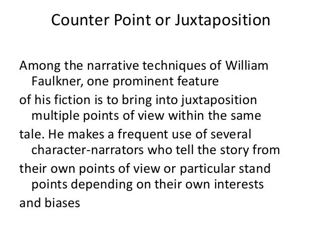 how narrative techniques are employed within Wide variation exists in both the data collection and analysis methods utilised within narrative  a number of techniques were usefully employed during.