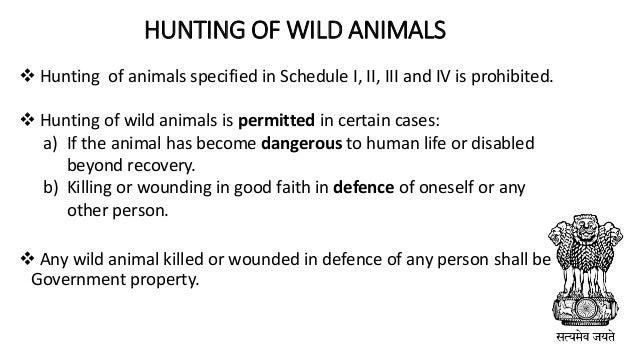 Wildlife Protection Act 1972 Pdf
