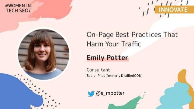 @e_mpotter SearchPilot (formerly DistilledODN)