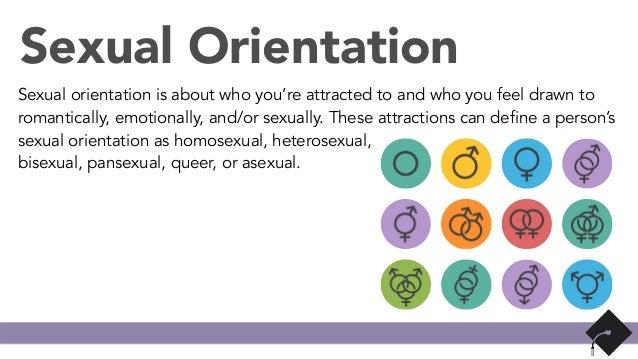 Homosexual orientation means