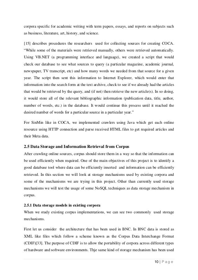 Historical Literature Review In Thesis Proposal