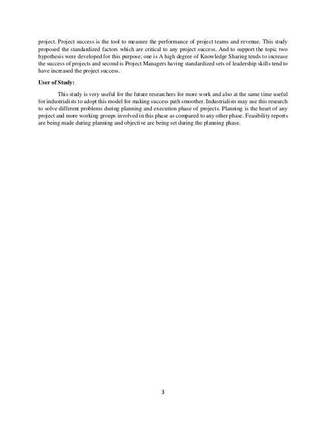 Final year project (standardized factors)