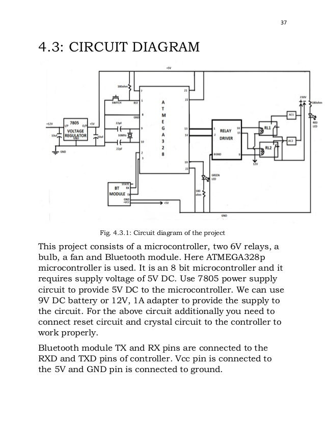 Wiring diagram for household appliances wiring diagram final year report on remote control of home appliances via bluetooth wiring diagram for household appliances asfbconference2016 Image collections