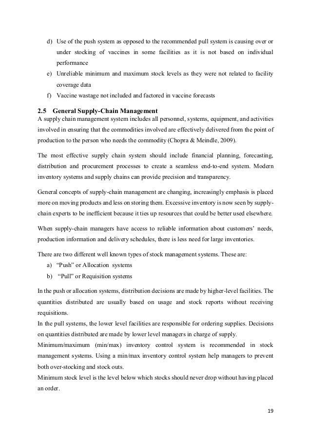 Vaccine Stock Management Tool - System documentation
