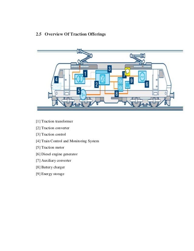 electrical locomotive report for final students