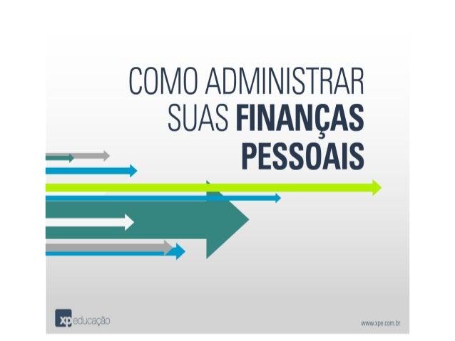 Como Administrar Suas Finanças Pessoais