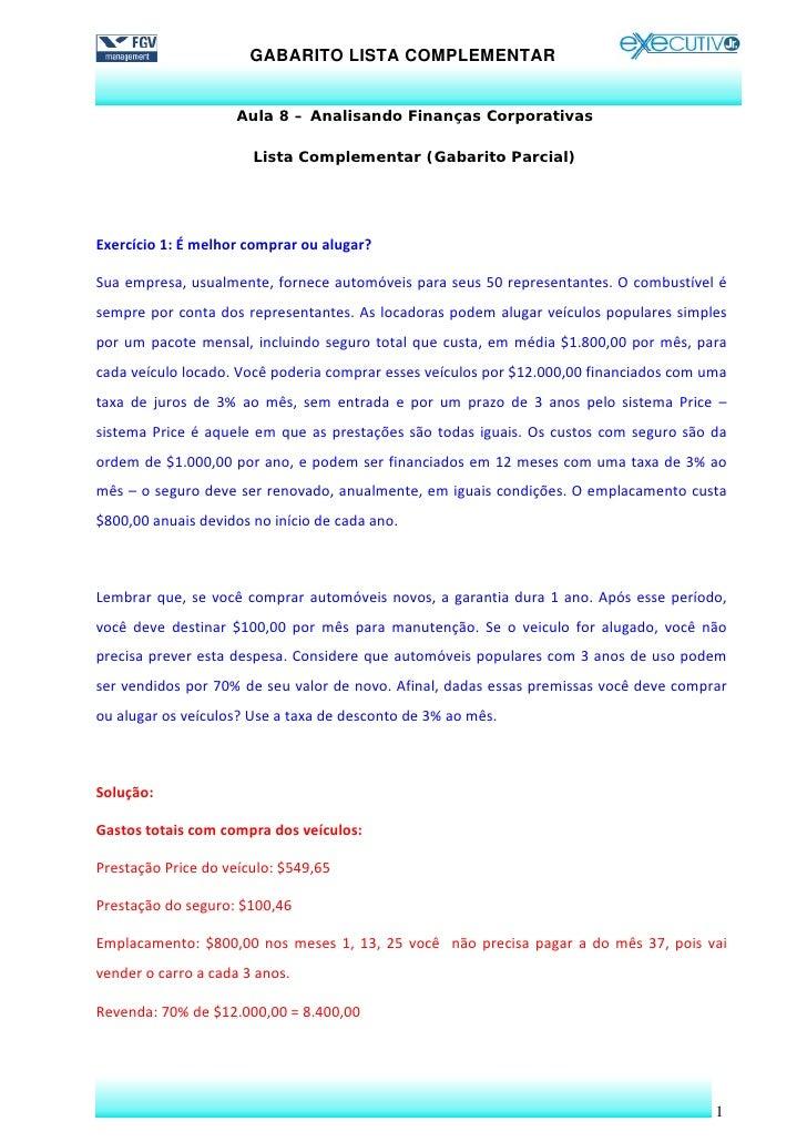Financas gabaritos parcial lista_suplementar_aula_8