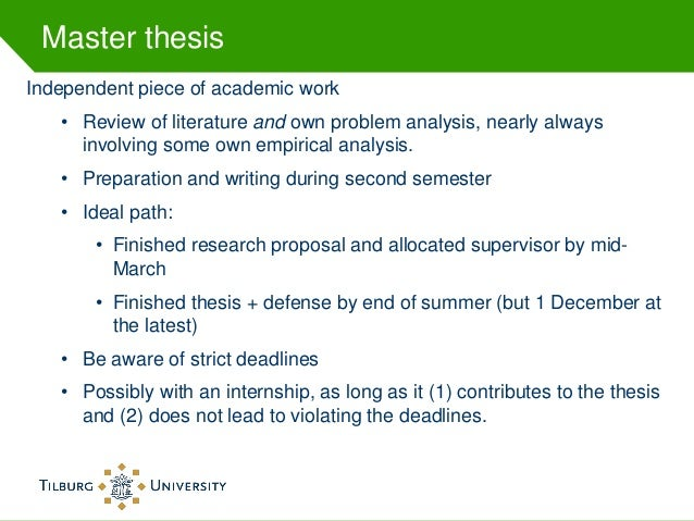 Master thesis corporate finance