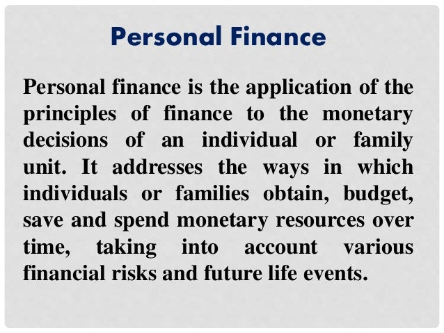 Superb 16. Personal Finance ...