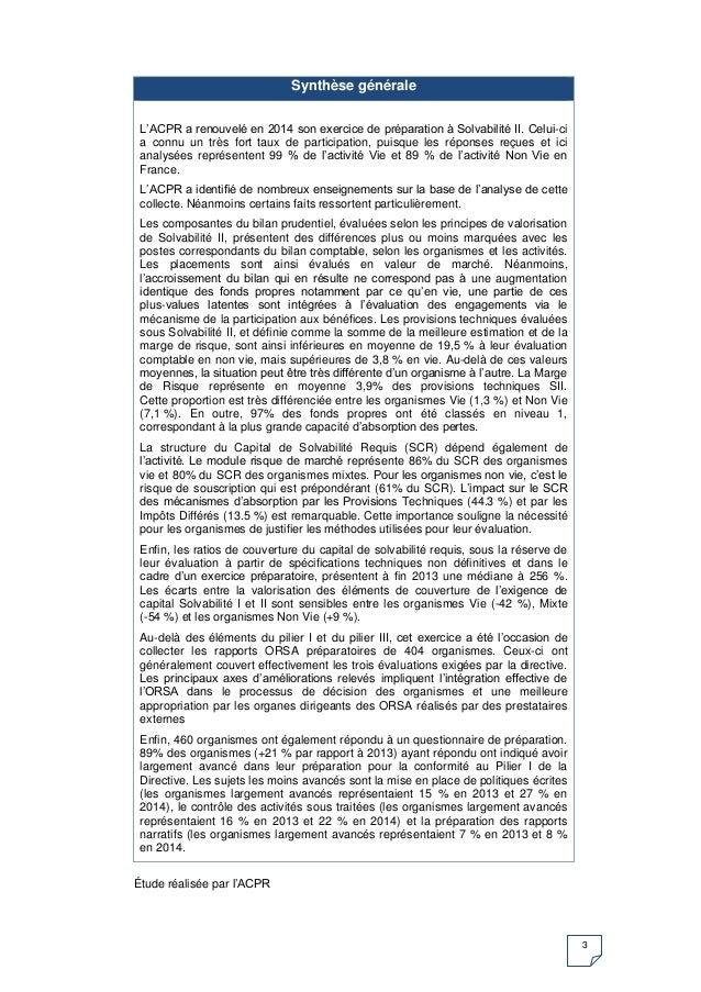 """Finance: Nouvelles publications de l'ACPR dans la série """"Analyses et Synthèses"""" Slide 3"""