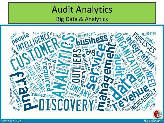 Audit Analytics Big Data & Analytics