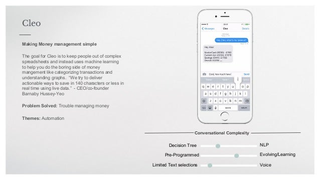 Finance bots - The move toward conversational finance
