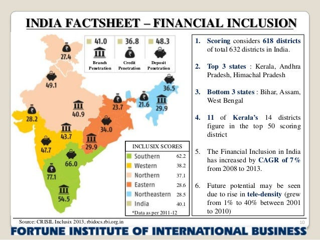 """financial inclusion in india Financial inclusion in india – an assessment1 """"overcoming poverty is not a gesture of charity it is an act of justice it is the protection of a fundamental."""