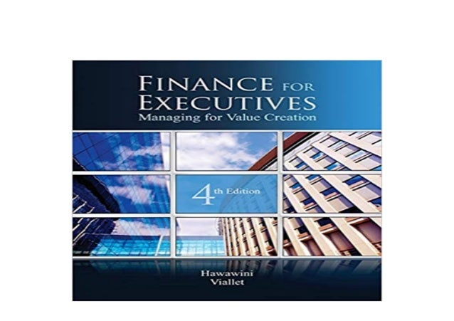 finance for executives managing for value creation pdf download