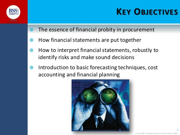 Finance Skills For Purchasing and Procurement Officers Slide 2