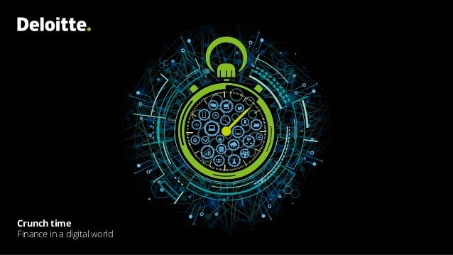 Crunch time Finance in a digital world