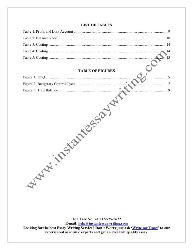 essay on service industry
